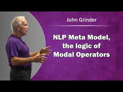 John Grinder & NLP Meta Model, the logic of Modal Operators