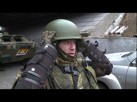 Ukraine rebels mourn Russian commander assassinated in Donetsk