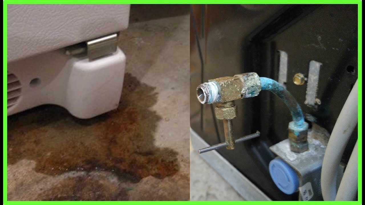 Diy How To Replace A Broken Refrigerator Water Line You