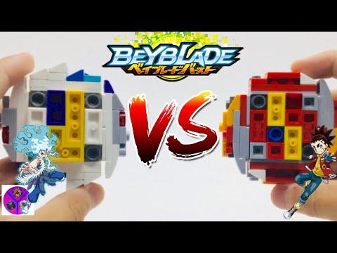 INFINITE ACHILLES vs RAGE LONGINUS | Lui VS Aiga | BEYBLADE Burst Super King
