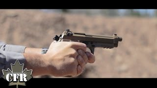 Beretta M9A3 break in