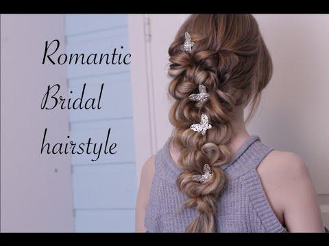 小女人的三股辮低髮髻 盤髮教學 3 strands braids updo