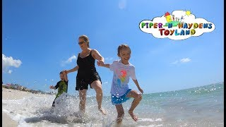 Piper N Hayden's | Family Fun Day At The Beach