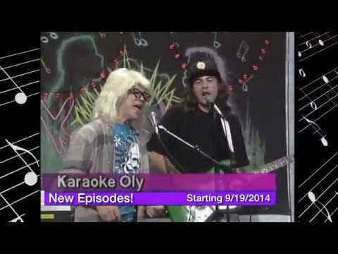 Karaoke Oly is back - wayne and garth promo