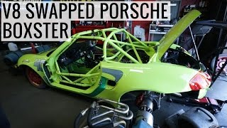 Not an LS! V8 Swapped Porsche Boxster on Dyno Sounds Menacing