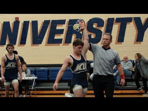 Jarrad Lasko vs Thomas Gallagher of Case Western Reserve at JCU Duals 11 19 2017