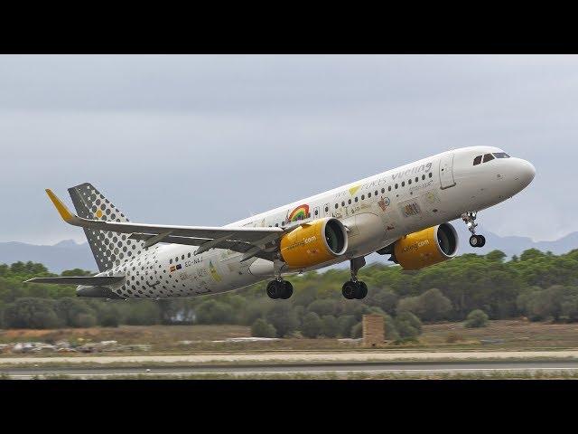 45min+ A full day PlaneSpotting at Palma De Mallorca Airport | Runway 06R/24L