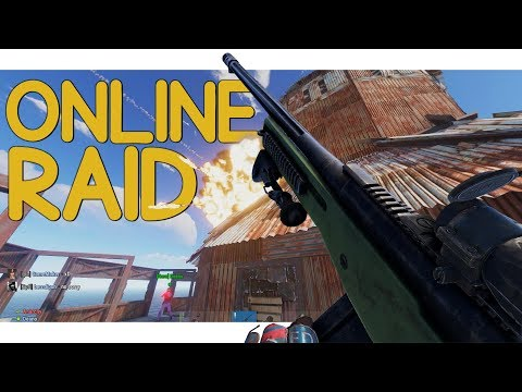 Rust - The Play That SAVED It All! (Online Raid Defense) thumbnail