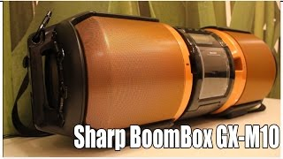 Русский обзор Sharp BoomBox GX M10 VLGavto