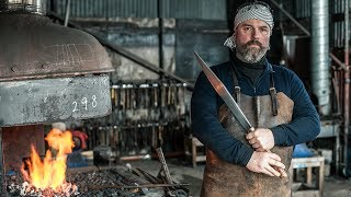 Top Bladesmith Teaches UK's Youth The Trade: Forged In Britain