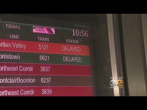 NJ Transit Has Some Big Problems