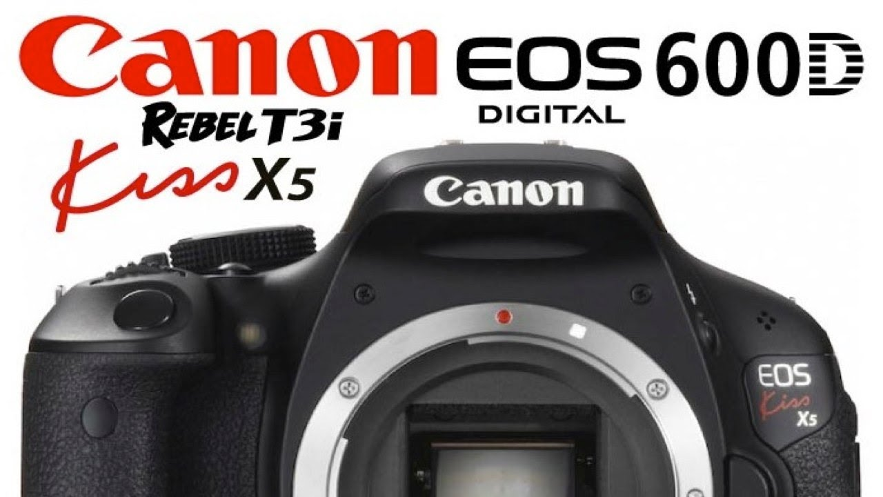 canon kiss x5 600d rebel t3i unboxing thoughts youtube rh youtube com Canon D600 Compare Canon EOS Camera Canon 600D Kiss