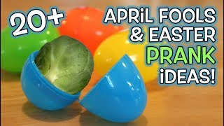 20+ April Fools & Easter Pranks on Family!!