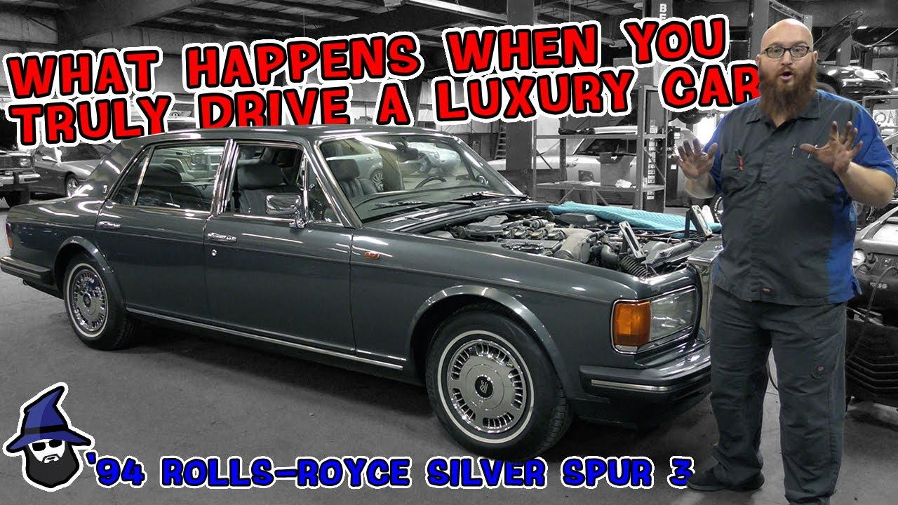 What happens to a luxury car that's truly driven? CAR WIZARD shows on '94 Rolls-Royce Silver Spur 3