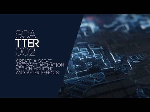 Sci Fi Abstract Animation - After Effects & Houdini Tutorial