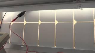 50W Solar Panel powering my Yaesu VX-8DR Radio