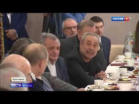Репортаж «России1» ототкрытии Года театра