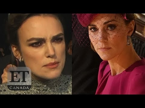 Keira Knightley Denies Slamming Kate Middleton