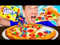 WEIRD Food Combinations People LOVE!!! *PIZZA & SOUR CANDY* Eating Funky & Gross Impossible Foods