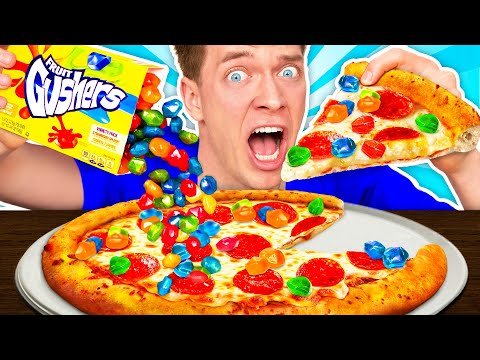 weird-food-combinations-people-love!!!-*pizza-&-sour-candy*-eating-funky-&-gross-impossible-foods