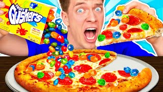 WEIRD Food Combinations People LOVE!!! *PIZZA & SOUR CANDY* Eating Funky & Gross Impossible