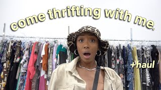 Come Thrifting with Me! + mini haul (i found a designer bag!) - Kera Ariyel