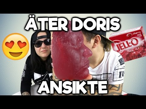 Äter Doris Ansikte - Gipsar Ansiktet