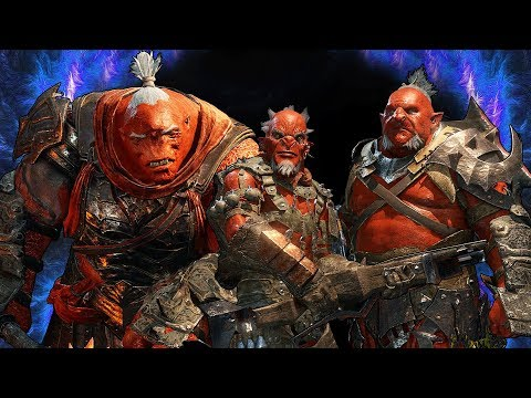 SHADOW OF WAR - THE RAREST ORCS IN THE GAME! BEST SAURON FIGHTERS  