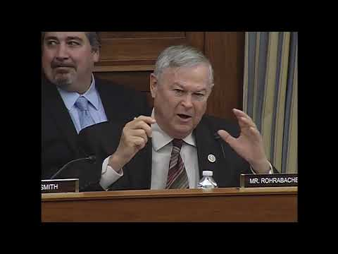 """Rep. Rohrabacher's Q&A on """"Advancing Solar Energy Technology: Research Trumps Deployment"""""""