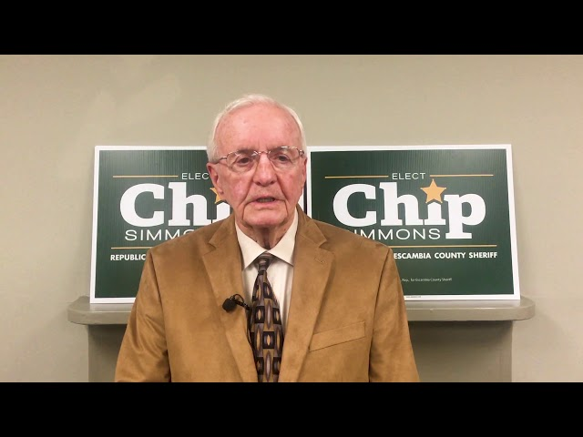 Vice Admiral Unruh endorses Chip Simmons for Sheriff