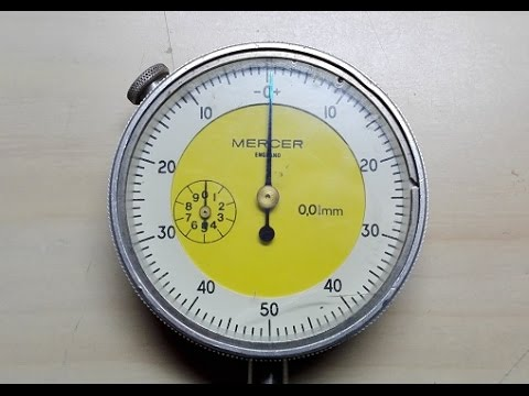 Repairing a sticky dial indicator.