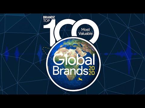 BrandZ Top 100 Most Valuable Global Brands Countdown Video