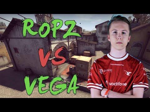 CSGO: POV mouz ropz vs Vega Squadron (29/18) inferno @ ROG MASTERS 2017 EMEA Finals