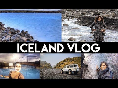 Iceland Vlog | Golden Circle, Blue Lagoon, Reykjavik, Gullfoss Waterfalls | AllAboutAnika