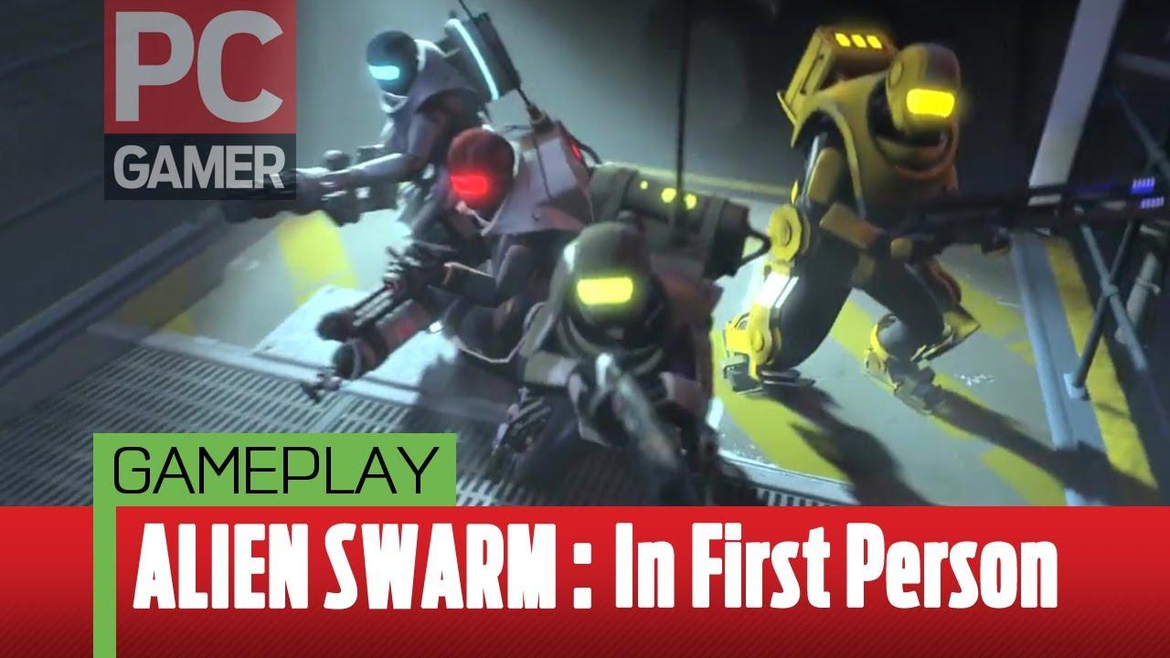 PC Gamer - Alien Swarm in first-person