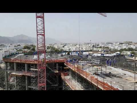 Take a look at the worksite of S&T Interiors and Contracting's The Waterfront in Muscat, Oman