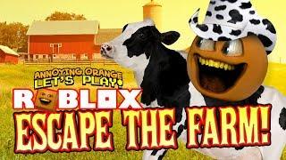 Roblox: Escape the Farm! [Annoying Orange Plays]