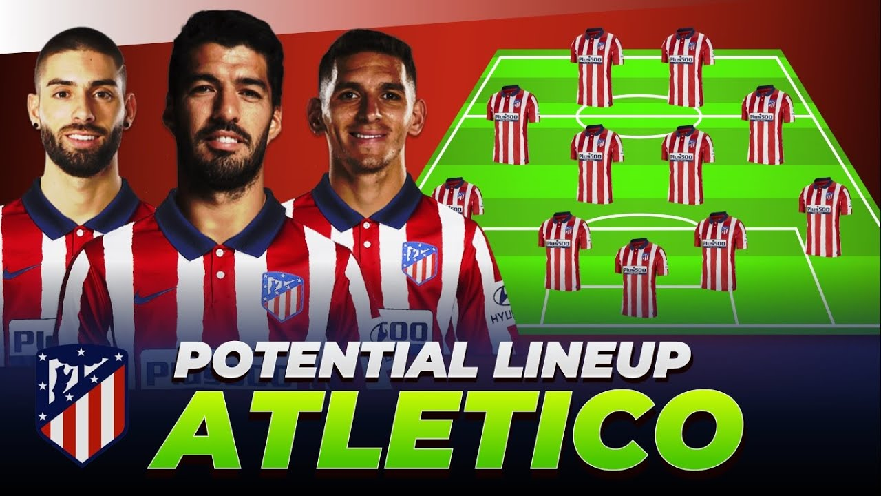 Atletico Madrid Potential Line Up Next Season 2020 21 Ft Suarez Torreira Carrasco Youtube