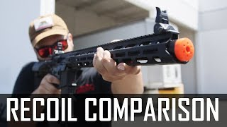 Electric Recoil Comparison Airsoft Gi Youtube