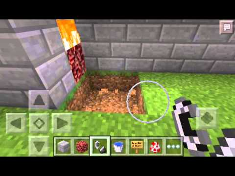 how to grow food in minecraft pe