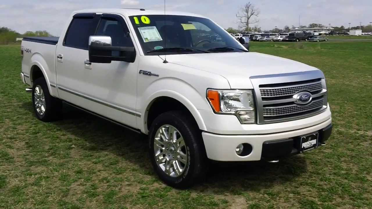 used truck for sale ford f150 platinum 4wd crew cab youtube. Black Bedroom Furniture Sets. Home Design Ideas