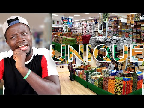 Inside the Biggest African Textiles Shop in Germany (English)