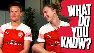 😂 'THIS LIST IS RIDICULOUS!' | Vivianne Miedema v Katrine Veje | What do you know?