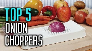 TOP 5: Best Onion Choppers & Vegetables Choppers Reviews in 2018