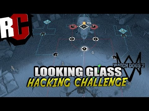 "Watch Dogs 2 - Hacking Challenge in ""Looking Glass"" - How to solve hacker challenge in Looking Glass"