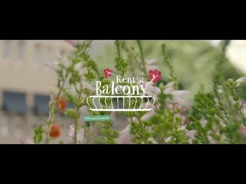 """""""Rent a Balcony"""" von Pflanzenfreude.de in Hamburg"""