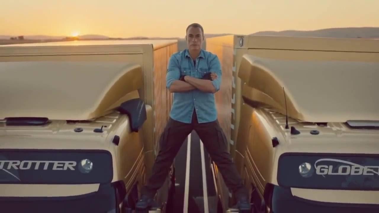 Jean Claude Van Damme Volvo Truck Split Commercial Accident - YouTube