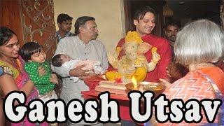 Vivek Oberoi & Family Ganpati Celebration @ Home