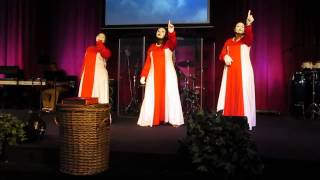 He Has His Hands On You- Marvin Sapp NSCC Praise Dance Ministry