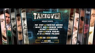 CLEP vs. FINCH ASOZIAL | Toptier Takeover v. 2.0 - Trailer | 31.3.2018 | Astra Kulturhaus